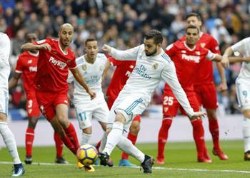 ناتشو تميمة حظ ريال مدريد أمام إشبيلية