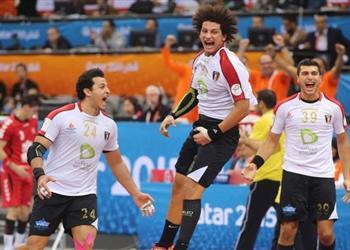 موعد والقناة الناقلة لمباراة مصر والدنمارك في كأس العالم لكرة اليد اليوم