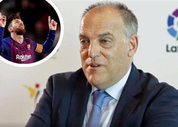 رئيس الاتحاد الإسبانيالمدريدي: ميسي أفضل لاعب في تاريخ كرة القدم
