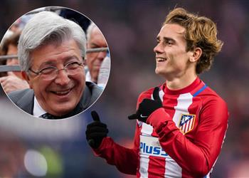 رئيس أتليتكو مدريد: لديهم كريستيانو؟ نحن نملك جريزمان