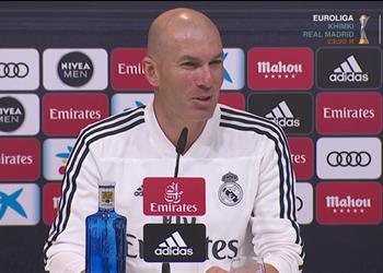 زيدان: لا أفكر في الفوز بالليجا ولن أخبركم بحارس ريال مدريد أمام سيلتا فيجو