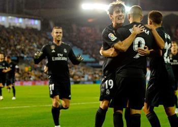 تشكيل المباراة | زيدان يدفع بنافاس وإيسكو والحرس القديم يقود هجوم ريال مدريد أمام فيجو