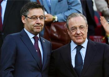 حرب قريبة بين برشلونة وريال مدريد بسبب صفقة هجومية