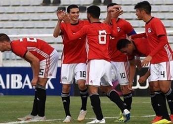 منتخب مصر الأولمبي يرتدي الزي الأحمر أمام أمريكا وديًا
