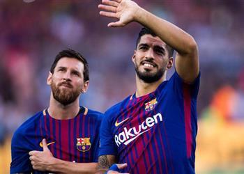 ميسي وسواريز يثيران مخاوف برشلونة قبل مواجهة مانشستر يونايتد
