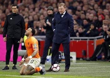 كومان يشيد بلاعبي هولندا رغم الخسارة أمام ألمانيا