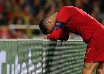 بالفيديو | البرتغال تتعثر أمام صربيا في ليلة إصابة رونالدو بتصفيات يورو 2020
