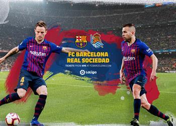 موعد والقناة الناقلة ومعلق مباراة برشلونة وريال سوسييداد في الدوري الإسباني اليوم