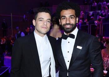 بالصور   محمد صلاح يحضر حفل أكثر 100 شخصية مؤثرة في العالم.. ونجوم السينما العالمية يصطفون حوله
