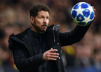 سيميوني يستسلم: برشلونة هو من سيفوز بلقب الليجا