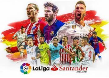 ترتيب هدافي الدوري الإسباني بعد انتهاء الجولة الرابعة والثلاثون