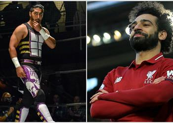 مصارع :WWE محمد صلاح مصدر إلهامي