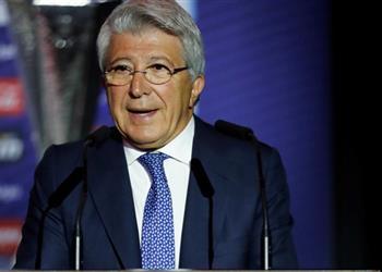رئيس أتلتيكو مدريد: قرار جريزمان بالرحيل خيب آمالي.. وعودته في المستقبل غير ممكنة