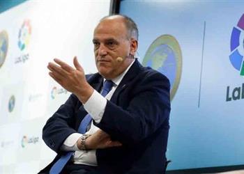 رئيس الليجا: رحيل كريستيانو لم يؤثر علينا وهذه حقيقة خلافي مع بيريز