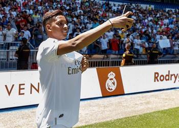رودريجو: اخبرت والدي من قبل أنني سألعب لريال مدريد وأرفض التشبيه بنيمار