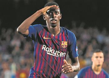 ليفربول يوافق على دخول المفاوضات مع برشلونة بشأن ديمبلي