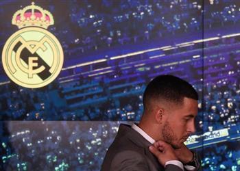 مدرب بلجيكا: ريال مدريد حلم هازارد منذ الطفولة
