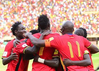 خاص | منتخب أوغندا يتفقد أرضية ستاد القاهرة قبل افتتاح الأمم الإفريقية