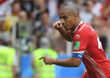 وهبي الخزري رجل مباراة تونس وأنجولا في أمم إفريقيا