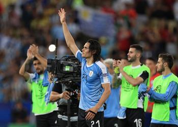 فيديو | كافاني رجل مباراة أوروجواي وتشيلي في كوبا أمريكا