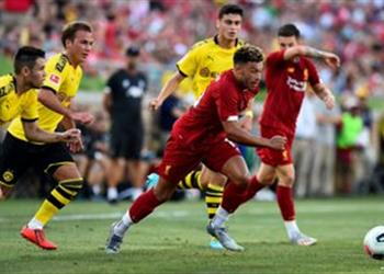 فيديو.. ليفربول يخسر أمام بوروسيا دورتموند وديًا