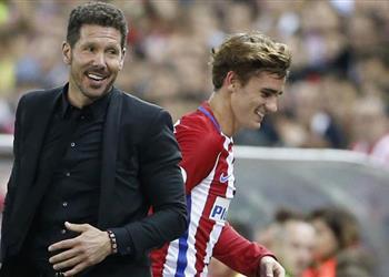 سيميوني: جريزمان سيحقق موسمًا رائعًا مع برشلونة وعلاقتي به مميزة