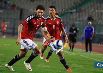 شباب مصر يهزمون المغرب بثنائية استعدادًا للأمم الإفريقية