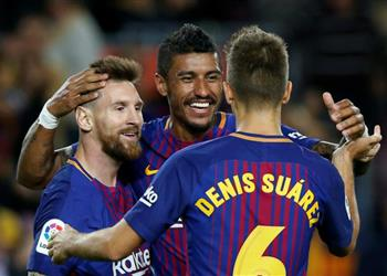 باولينيو: أريد مساعدة برشلونة وميسي الأفضل في العالم