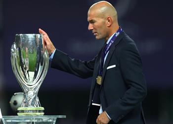 كأس السوبر الأوروبي تكتب رقم قياسي جديد لزيدان مع ريال مدريد
