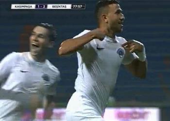 فيديو.. تريزيجيه يسجل هدف التعادل لقاسم باشا