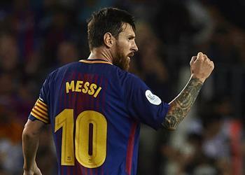ميسي لا يريد هدف توتنهام في برشلونة