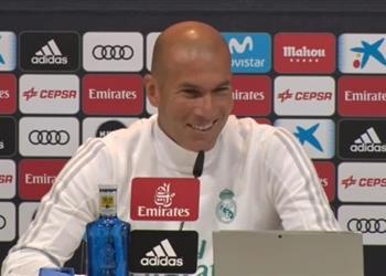 زيدان: فارق النقاط مع برشلونة قد يصل إلى 15 ولكن !