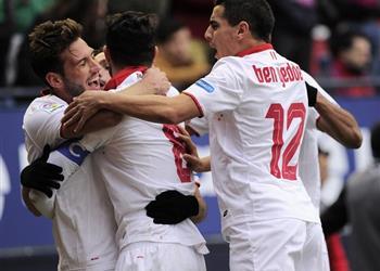 #نتائج_الليجا .. إشبيلية يواصل الضغط على ريال مدريد بفوز مثير أمام أوساسونا