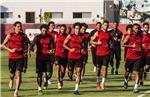 مران الأهلي جلسة مع صانع ألعاب الفريق وغياب إكرامي