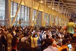 بعثة منتخب ناشئي اليد تصل مطار القاهرة وسط استقبال جماهيري حافل