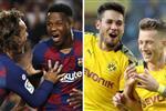 التشكيل المتوقع لمباراة برشلونة وبوروسيا دورتموند في دوري أبطال أوروبا اليوم