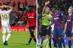 اللون الأحمر يصبغ انطلاقة ريال مدريد وبرشلونة في الدوري الإسباني!