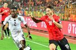 لاعب غانا الأولمبي يرفض الاستسلام بعد الهزيمة من مصر