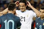 كافاني عن مشادته مع ميسي في مباراة الأرجنتين وأوروجواي: أشياء طبيعية في كرة القدم