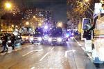 فيديو   اشتباكات بين جماهير باريس سان جيرمان وجالطة سراي خارج ملعب حديقة الأمراء