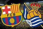 موعد والقناة الناقلة لمباراة برشلونة وريال سوسيداد في الدوري الإسباني اليوم