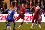 فيديو| من نيران صديقة.. ليفربول يتقدم بالهدف الثاني أمام شروزبريفي كأس إنجلترا