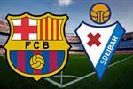 تعرف على معلق مباراة برشلونة وإيبار في الدوري الإسباني اليوم