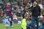 سارابيا: ميسي أفضل لاعب في التاريخ والعمل معه في برشلونة شرف