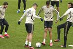 مهاجم ريال مدريد يعود للتدريبات.. وزيدان ينفذ توصيات الصحة الإسبانية