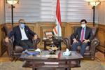وزير الرياضة يناقش مع الجنايني استعدادات عودة النشاط وفقًا للإجراءات الاحترازية