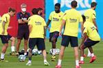تقارير إسبانية: سباعي برشلونة عانى من كورونا دون أعراض
