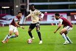 بالفيديو | القائم يمنع تريزيجيه من هدف مؤكد لـ أستون فيلا أمام مانشستر يونايتد