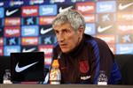 سيتين يكشف سبب استبعاد آرثر ودي يونج من مباراة برشلونة وبلد الوليد