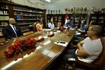 الخطيب ولجنة التخطيط بـ الأهلي يجتمعان مع بروكيتش
